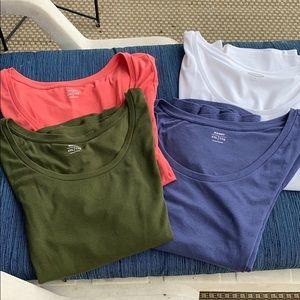 Four old navy short sleeve shirts xxl